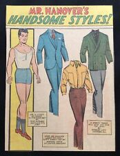 Millie the Model Comic Book Paper Dolls, Stan Lee Art, Mr. Hanover's Styles