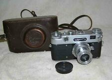 ZORKI-5 Rare Old Vintage Russian Soviet Camera Leica Industar-22 USSR 1959