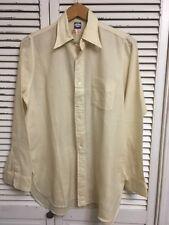 Vintage Rare 1950-60's Archie Brown Bermuda Dress Shirt UK Men's 14 1/2 34 S/M