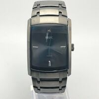 Relic Mens ZR77200 Black Stainless Steel Quartz Analog Bracelet Watch