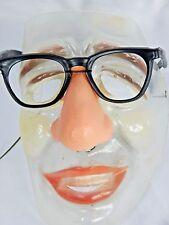 Vintage 1970s Goober Creep Glasses Nerd Face Halloween Mask Retro Loney Geek Man