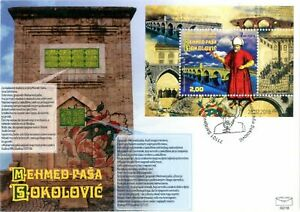 BOSNIA & HERZEGOVINA /2018, (FDC) PROF. AND FOUN. OF MEHMED-PASA SOKOLOVIC, MNH