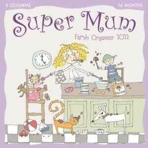 2022 Wall Planner - Kim Nash Super Mum