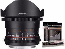 Samyang 8mm T3.8 Cine VDSLR II Version 2 UMC Fish-eye APSC Lens for Sony E mount