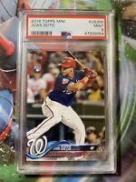Juan Soto 2018 Topps Update #US300 Batting Rookie RC PSA 9 MINT MVP (Mislabeled)
