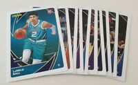 2020/21 Panini NBA Stickers and Cards Collection - Lot of 10 cards inc Rookie