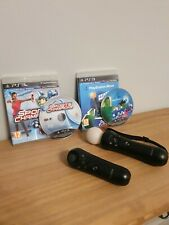 Sony Playstation Move Motion and Navigation Controller & Games Ps3/Ps4