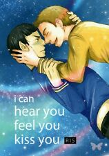 Star Trek Startrek Treck YAOI Doujinshi Comic Kirk x Spock I can hear you feel y