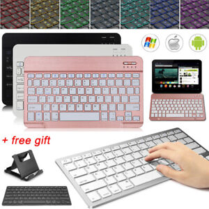 UK Wireless Keyboard For Samsung Galaxy Tab A T510 S4 S5e S6 Lite P610 Tablet