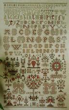 NEW CROSS STITCH KIT DUTCH FRISIAN SAMPLER 1854 PERMIN OF COPENHAGEN 39-4454