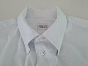 Armani Collezioni Hemd, Gr. 42, weiß