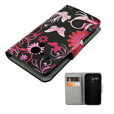 Leather Phone Case Cover Wallet Style Holster Pouch Skin For Motorola Moto G