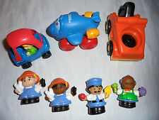 Fisher Price Little People Community Workers Truck Tonka Plane Toy