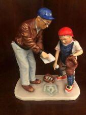 """Vtg Gorham Porcelain Norman Rockwell Figurine """"Big Decision""""- Mint In Box"""