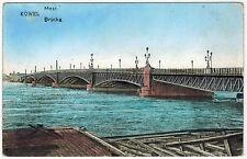 Bridge in Kowel, Ukraine, 1916 via German Fieldpost