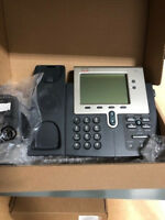 Cisco CP-7942G Phone, Refurbished, Free USA Continental Fedex Ground Shipping