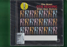 OTIS REDDING - THE GREAT SINGS SOUL BALLADS CD NUOVO SIGILLATO