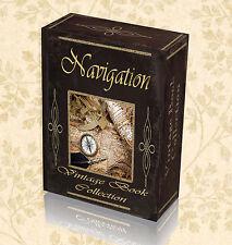 100 Vintage Books Navigation Sextant Compass Nautical Astronomical Maps DVD 287