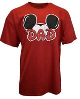 DISNEY Mickey Mouse Mens T Shirt 2XL Disneyland Short Sleeve Graphic DAD Tee NEW