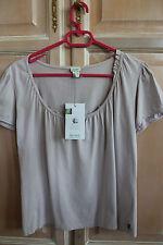 Hess Natur Biobaumwolle Damen T-Shirt Größe 40/42 SEHR GUTER ZUSTAND