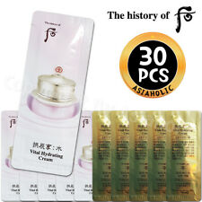 The history of Whoo Vital Hydrating Cream 1ml x 30pcs Soo Yeon Newist Version