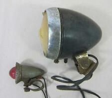 VINTAGE STURMEY ARCHER BICYCLE CYCLE DYNAMO LIGHTS FRONT & REAR LAMPS
