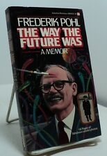 The Way the Future Was by Frederik Pohl - First paperback - signed