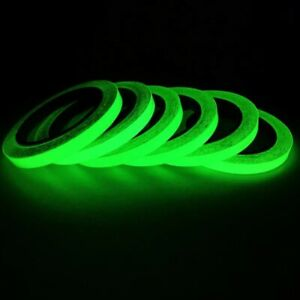 1M Luminous Fluorescent Night Self-adhesive Glow In The Dark Sticker Tape Safety