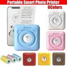 New Mini Smart Photo Printer Pocket Wireless Bluetooth For Android iOs