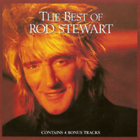 Rod Stewart The Best Of 16 Trk CD Album Greatest Hits Very Collection Singles