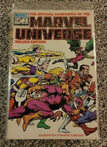 Official Handbook Of The Marvel Universe Deluxe Edition 1986 1,2,3,6,7,8,9,11,14