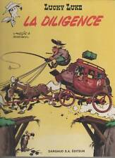 LUCKY LUKE - LA DILIGENCE dargaud re 1969  tome 1 ou 32