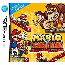 Mario Vs Donkey Kong Mini-Land Mayhem! For Nintendo DS DSi 3DS 2DS Puzzle 2E