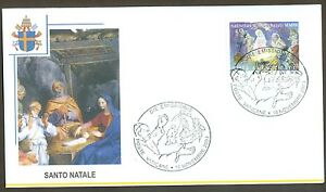 Vatican City Sc# 1256, Christmas 2003, First Day Cover