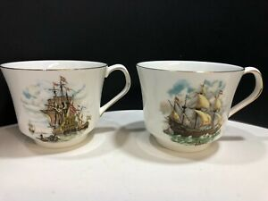 Vintage Elizabethan Fine Bone China Coffee or Tea Cups Made in England