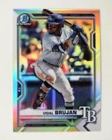 2021 Bowman Prospects Chrome Refractor #BCP-19 Vidal Brujan /499 - Rays