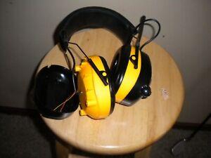 DEWALT Radio FM/AM Headset FOR PARTS or REPAIR