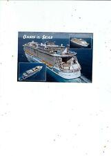 2009 POSTCARD   ROYAL CARABBEAN SHIP OASIS OF THE SEAS