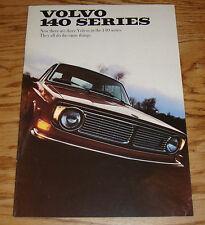 Original 1968 - 1969 Volvo 140 Series Sales Brochure 68 69 142 144 145