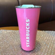 Starbucks Korea 2018 Summer SS DW PINK LETTER To Go Tumbler 16oz Edition