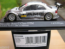 MINICHAMPS 1:43 MERCEDES C CLASS DTM 2004 TEST CAR KIMI RAIKKONEN (400 043498)