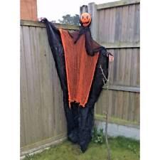 Giant Long Hanging Citrouille 200 cm Orange Carénage Fête d'Halloween Accessoire Déguisement