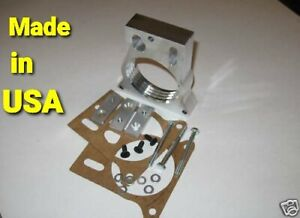 CHEVY HELIX AIR FLOW THROTTLE BODY SPACER GMC SIERRA 1999-2007  (Fits chevrolet)