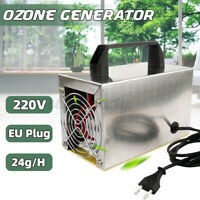 24g/h Ozone Generator Ozone Machine Purifier Air Cleaner Disinfection Sterilizer