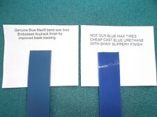 2 BLUE MAX ULTRA DUTY .125 BAND SAW TIRES FOR FAIRBANKS WARD RF-115 BAND SAW