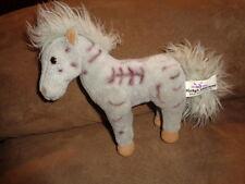 "Horse Gray 6"" standing zombie stuffed plush bean bag Market Identity #C98741"