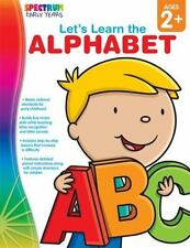 Let's Learn the Alphabet, Ages 2 - 5 by Spectrum, Good Book