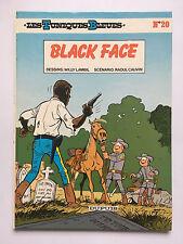 LES TUNIQUES BLEUES N°20 ... BLACK FACE ... EO .. EDITION CARTONNEE 1984