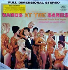 TOMMY SANDS - SANDS AT THE SAND - CAPITOL 1364 - STEREO LP - CHEESECAKE COVER