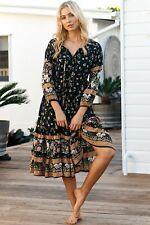 NEW Eternity Midi Dress Salty Crush Women Fashion Style Ladies
